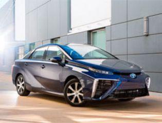 В Японии началось серийное производство водородного автомобиля
