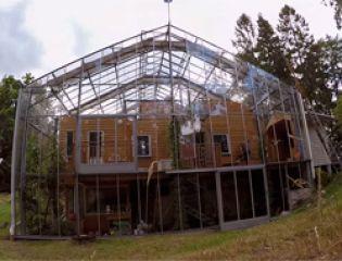 Триумф энергоэффективности: дом-теплица в Швеции