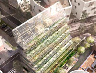 Проект гигантской городской фермы Agro-main-ville