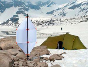 Портативный ветрогенератор весом менее 1 кг