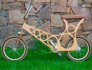 Hoopy - деревянный велосипед-конструктор