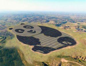 Самая забавная в мире солнечная электростанция появилась в Китае