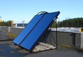Плоский коллектор состоит из абсорбера, поглощающего солнечное излучение...