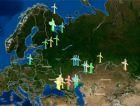 РАВИ представляет карту ветроэнергетических проектов России