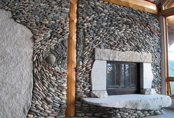 Как построить дом из камней своими руками 73