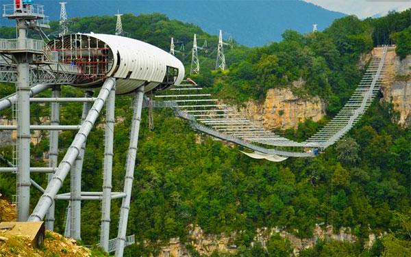 мост в сочи над пропастью фото